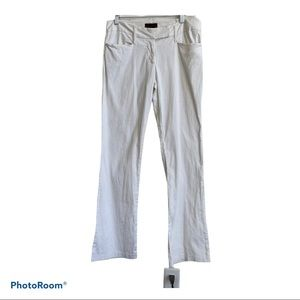 First Kiss White Cotton Pants, Junior Size 7
